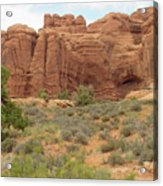 Arches Formation 31 Acrylic Print