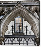 Arches In Front Of The Courts Acrylic Print