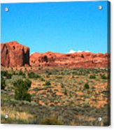 Arches National Park In Moab, Utah Acrylic Print