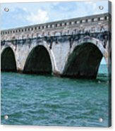 Arches Of The Bridge Acrylic Print