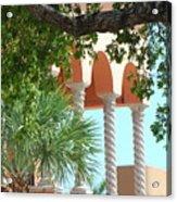 Arches Thru The Trees Acrylic Print