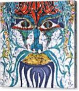Archetypal Mask Acrylic Print