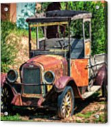 Archies Chevolet Taos Nm Acrylic Print