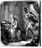 Archimedes (c287-212 B.c.) Acrylic Print by Granger