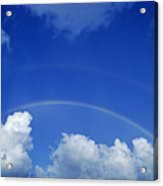 Arching Rainbow Acrylic Print