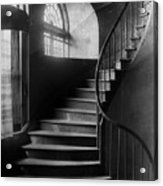 Arching Stairwell Acrylic Print