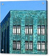 Architectural Abstract Oakland Ca Acrylic Print