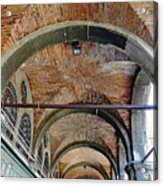 Architectural Ceiling Of The Building Owned By The Rialto Market In Venice, Italy Acrylic Print