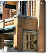 Architectural Detail - 5 Acrylic Print