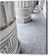 Architectural Pillars Acrylic Print