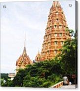architecture at Wat Tham Sua Acrylic Print