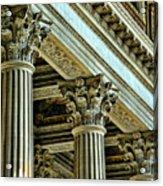 Architecture Columns Palace King Louis Xiv Versailles  Acrylic Print