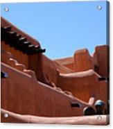 Architecture In Santa Fe Acrylic Print