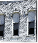 Architecture Of A Small Town2 Acrylic Print