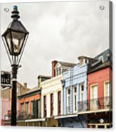 Architecture Of The French Quarter In New Orleans Acrylic Print