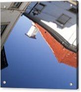 Architecture Reflection Acrylic Print