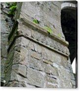 Architecural Detail At Irish Jerpoint Abbey County Kilkenny Ireland Acrylic Print