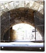 Archway And Gate Acrylic Print