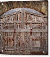 Archway Gate Acrylic Print