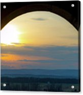 Archway Landscape Acrylic Print