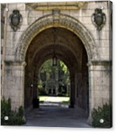 Archway To Education Acrylic Print