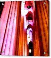 Archways Of St.john The Divine Acrylic Print