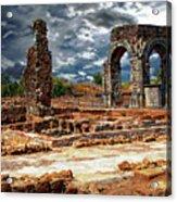 Arco De Caparra Acrylic Print
