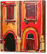Arco Di Firenze Acrylic Print