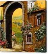 Arco Di Paese Acrylic Print by Guido Borelli