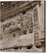 Arco Di Tito Relief Acrylic Print