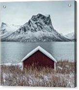 Arctic Landscape In Northern Norway, Senja Acrylic Print
