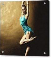 Ardent Dancer Acrylic Print