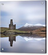 Ardvreck Castle Reflection Acrylic Print