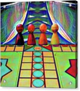 Are You Game Acrylic Print