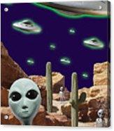 Area 51 Acrylic Print