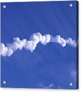 Area1x Rocket Exhaust Trail Acrylic Print