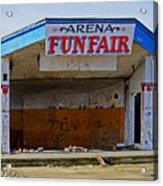 Arena Funfair. Acrylic Print