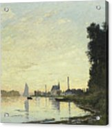 Argenteuil In Late Afternoon Acrylic Print