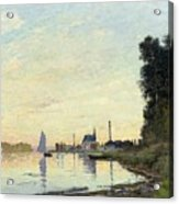 Argenteuil, Late Afternoon Acrylic Print