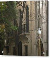 Argentinian Street Lamp Acrylic Print