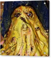 Argh  Matey - No Votes Accepted For Debbie May Acrylic Print
