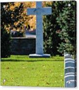 Argonne Cross Memorial Acrylic Print