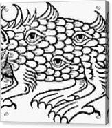 Argus Sea Monster, 1537 Acrylic Print