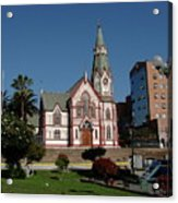 Arica Chile Church Acrylic Print