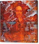 Ariel Borealis Acrylic Print