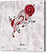Aries Artwork Acrylic Print