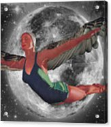 Aries Rising Acrylic Print