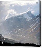 Arising Storm Over Glacier Acrylic Print