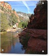 Arizona Canyon Sky Two Acrylic Print