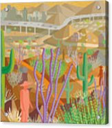 Arizona Acrylic Print